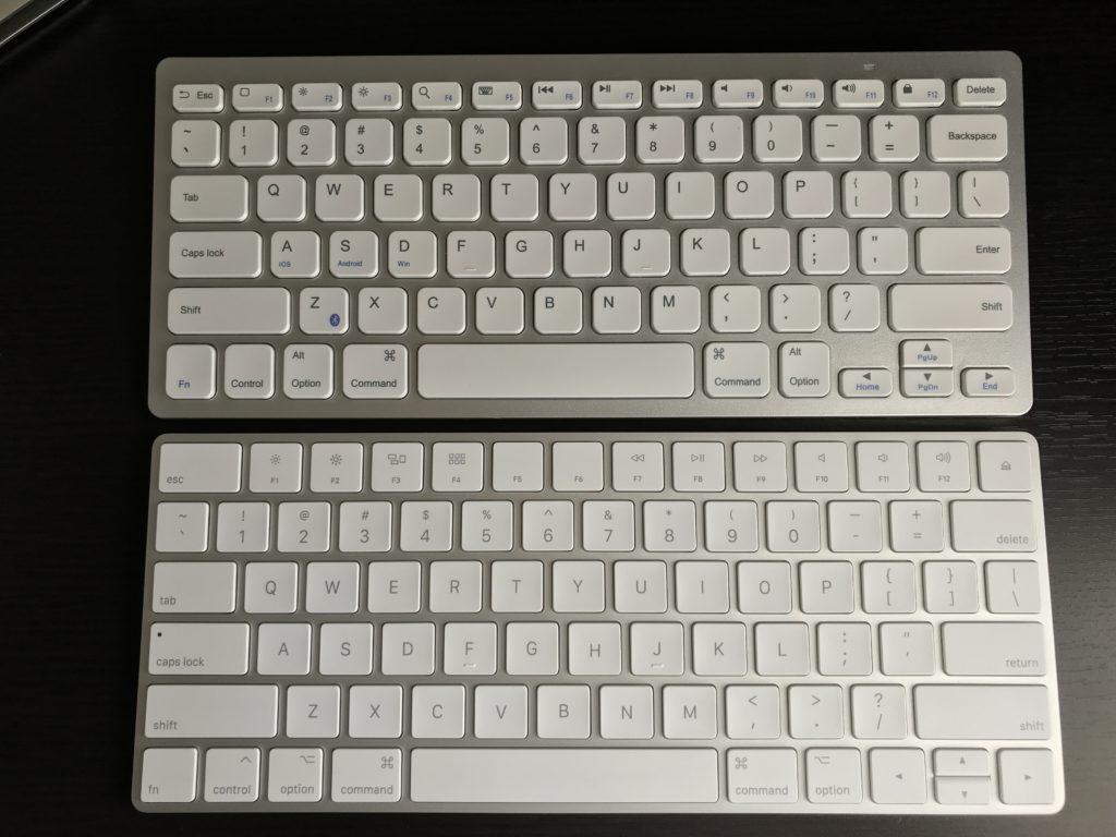 AnkerのBluetoothキーボード とMagic Keyboard2