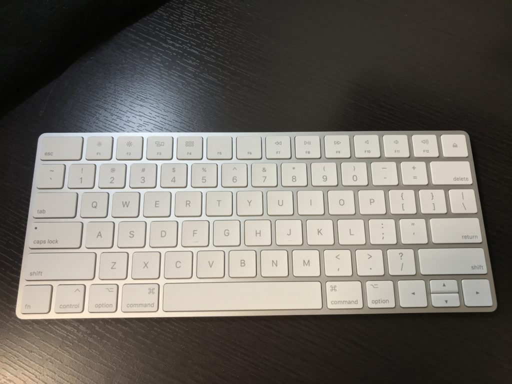 Magic Keyboard2の正面