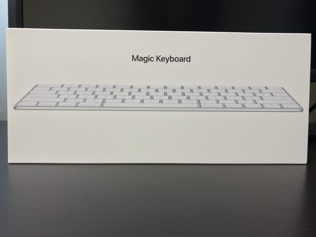 Magic Keyboard2の外箱